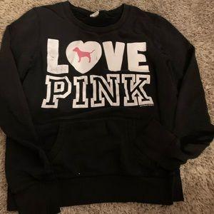 Victoria's Secret Pink crew neck sweatshirt M
